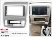 Переходная рамка Carav 11-605 для Toyota Alphard 2002-2007, 2 DIN