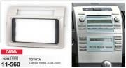 Переходная рамка Carav 11-560 для Toyota Corolla Verso 2004-2009, 2 DIN