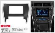 Переходная рамка Carav 11-711 для Toyota Camry 2015+, 2 DIN