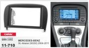 Переходная рамка Carav 11-710 для Mercedes-Benz SL-класса (W230) 2004-2011, 2 DIN