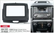 Переходная рамка Carav 11-622 для Ford Ranger, Everest 2015+, 2 DIN