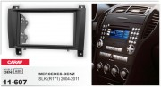 Переходная рамка Carav 11-607 для Mercedes-Benz SLK (R171), 2 DIN