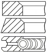Поршневые кольца GOETZE 08-117900-00