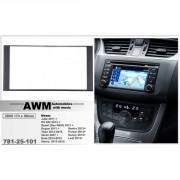Переходная рамка AWM 781-25-101 для Nissan, 2 DIN