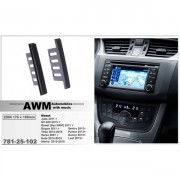 Переходная рамка AWM 781-25-102 для Nissan, 2 DIN
