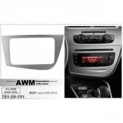 Переходная рамка AWM 781-29-101 для Seat  Leon 2005-2012, 2 DIN