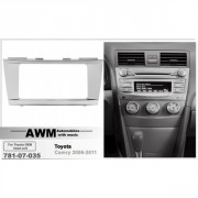 Переходная рамка AWM 781-07-035 для Toyota Camry 2006-2011, 2 DIN