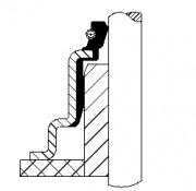 Сальник клапана CORTECO 19036814