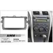 Переходная рамка AWM 781-07-036 для Toyota Corolla 2007-2013, 2 DIN