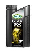 Полусинтетическое мотоциклетное трансмиссионное масло Yacco GEARBOX 2T 10W-30 (1л)