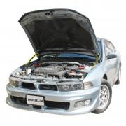 Амортизаторы капота (газовые упоры капота) Euro-Upor EU-MI-GAL-08-2 для Mitsubishi Galant 8 (1996-2006) 2шт