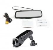 Штатное зеркало заднего вида с монитором Phantom RMS-430-33 для Volvo XC60, XC70, S60, S80, V60 (с датчиком дождя)