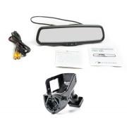 Штатное зеркало заднего вида с монитором Phantom RMS-430-36 для Volvo XC60, XC70, S60, S80, V60