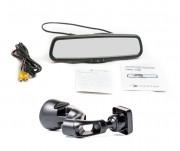 Штатное зеркало заднего вида с монитором Phantom RMS-430-63 для Mercedes-Benz A, CLA, GLS, GLA, SLK класса