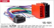 ISO разъем Carav 15-101 для магнитолы Alpine