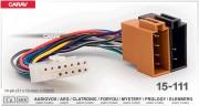 ISO разъем Carav 15-111 для подключения магнитол Audiovox, AEG, Clatronic, Foryou, Mystery, Prology, Elenberg