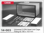 Комплект для установки магнитолы Carav 14-003