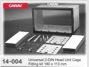 Комплект для установки магнитолы Carav 14-004