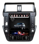 RedPower Штатная магнитола RedPower 31265 Tesla Style для Toyota Land Cruiser Prado 150 2014+ Android 6.0.1+