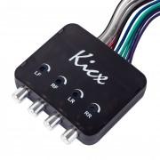 Kicx 4-х канальный конвертер уровня Kicx HL04MS