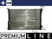 Радиатор охлаждения двигателя MAHLE CR 311 000P