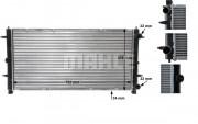 Радиатор охлаждения двигателя MAHLE CR 398 000S