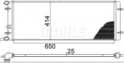 Радиатор охлаждения двигателя MAHLE CR 368 001S