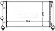 Радиатор охлаждения двигателя MAHLE CR 1448 000S