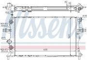 Радиатор охлаждения двигателя NISSENS 63247A