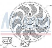 Вентилятор охлаждения радиатора NISSENS 85755