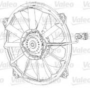 Вентилятор охлаждения радиатора VALEO 696091