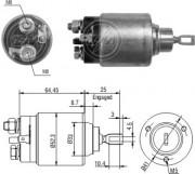 Втягивающее реле стартера ZM ZM373