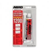 Многофункциональный силиконовый герметик Abro SS-1200CL (85г)