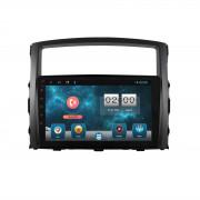 Штатная магнитола Sound Box SBM-8128 DSP для Mitsubishi Pajero Vagon IV (Android 10)
