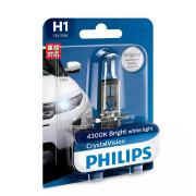 Лампа галогенная Philips CrystalVision 12258CVB1 (H1)