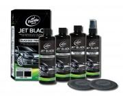 Набор полиролей для авто черного цвета Turtle Wax Black Box Jet Black Finish Kit (9550) 4x355мл