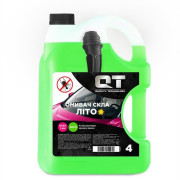 Летняя жидкость для стеклоомывателя с эффектом 'антимошка' QT-Oil (аромат Дыня)