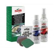 Набор для ухода за пластиковыми фарами Turtle Wax GL Headlight Restorer Kit Multi FG7606