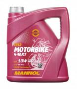 Мотоциклетное моторное масло Mannol 7812 Motorbike 4-Takt 10W-40
