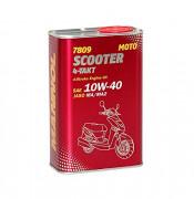 Моторное масло для скутеров Mannol 7809 Scooter 4-Takt 10W-40