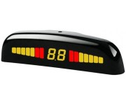 Парктроник Steelmate PTS410M1F black для заднего и переднего бампера с LED-дисплеем