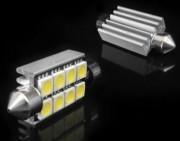 Комплект светодиодных (LED) плафонных ламп Falcon T10x42-8X