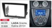 Переходная рамка Carav 11-620 для LADA Kalina 2013+, Granta 2013+, 2 DIN