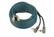 Межблочный кабель двойная изоляция Kicx DRCA23 (3м)