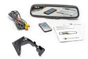 Штатное зеркало заднего вида с монитором и видеорегистратором Phantom RMS-430 DVR Full HD-58 для Citroen, Peugeot