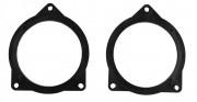 Комплект подиумов / проставок для динамиков Connects2 CT25BM09 в двери BMW 5-й серии (F10/F11) 2011+