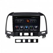 Штатная магнитола Abyss Audio QS-9220 DSP для Hyundai Santa Fe 2006-2012 (Android 10)