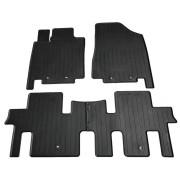 Коврики в салон Stingray для Nissan Pathfinder IV (R52) 2012+ (special design 2017) 4шт (1014344)