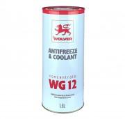 Антифриз Wolver Antifreeze & Coolant WG12 Concentrate 4260360941511 (концентрат красного цвета)