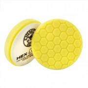 Желтый пенополиуретановый полировальный круг (жесткость №1) Chemical Guys Hex-Logic Премиум